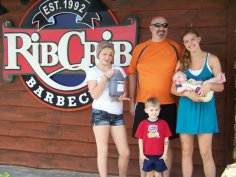Our favorite Branson restaurant. We stocked up on BBQ this time!