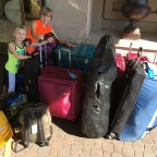 Suitcases, backpacks, and golf clubs…oh my!