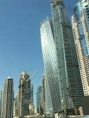 Dubai is a city of skyscrapers. Everywhere you look, the buildings reach toward the heavens.