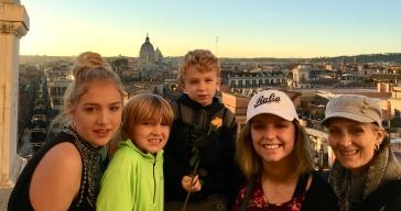 At Trinita dei Monti