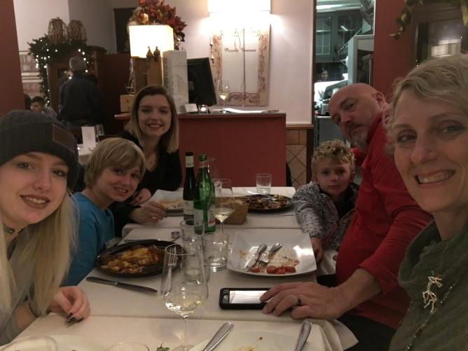 Christmas Eve dinner!