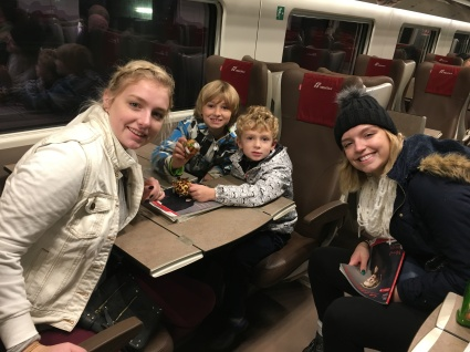 Taking the fast train to Florence