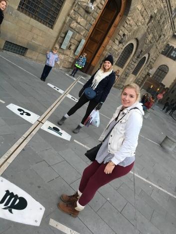 Outside Museo Galileo