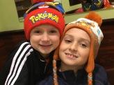 Pokemon fans got Pokemon hats.
