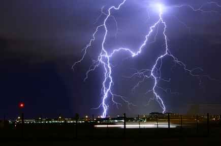 airport bolt bright danger